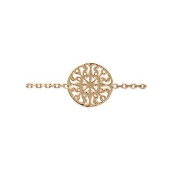 Bracelet en plaqué-or