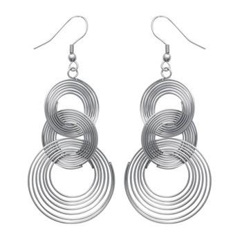 Boucles d'oreilles acier. DB2924100.