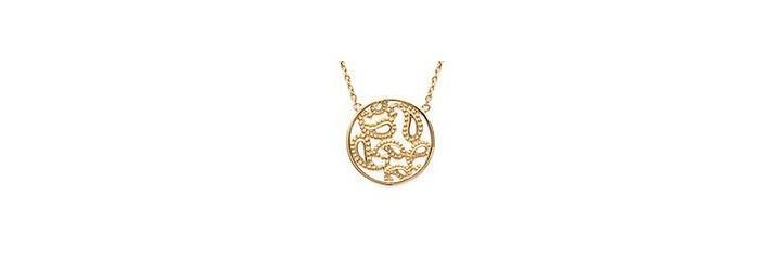 Bracelets et colliers en plaqué or sans pierres