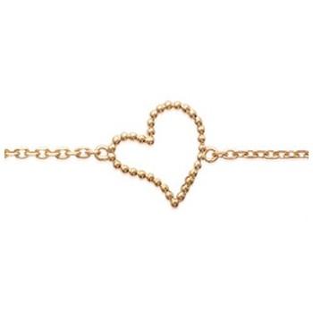 Bracelet en plaqué or 750/1000. 184212018.
