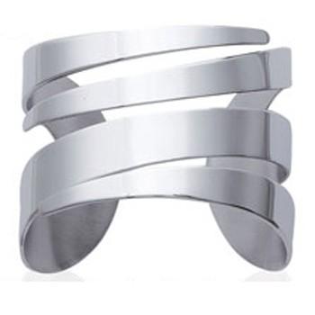Bracelet jonc en acier 316L. DB38041160.