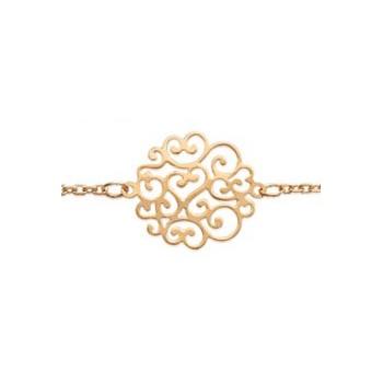 Collier et/ou bracelet en plaqué-or. DB1842151.